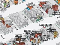Map of Williamsburg, New York