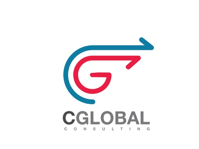 CGlobal vector logo creative direction design icon typography business cards collateral art direction brand and identity branding technology consulting