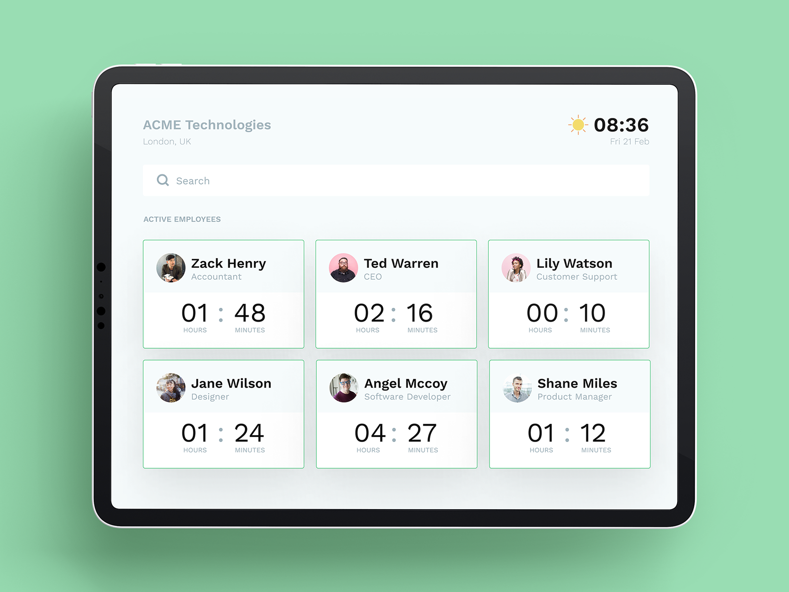 Employee Time Tracker