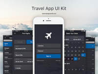 Travel App - UI Kit