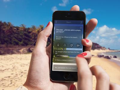 Mondly - Conversation Module ui language conversation iphone ios app translate