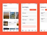 Travelisto UI Kit - Flights