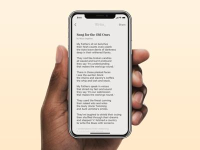 Write - Reading Mode