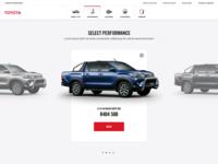 Toyota Hilux Configurator