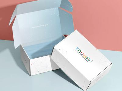 Muse 2 media box packaging design