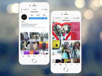 Social Media Content Design/ Identities