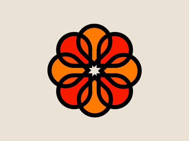 Modernist 002 color clean modern icon logo lines 70s minimal design retro vector geometric illustration minimalist logo graphic design circle shapes retro design modernism minimalism
