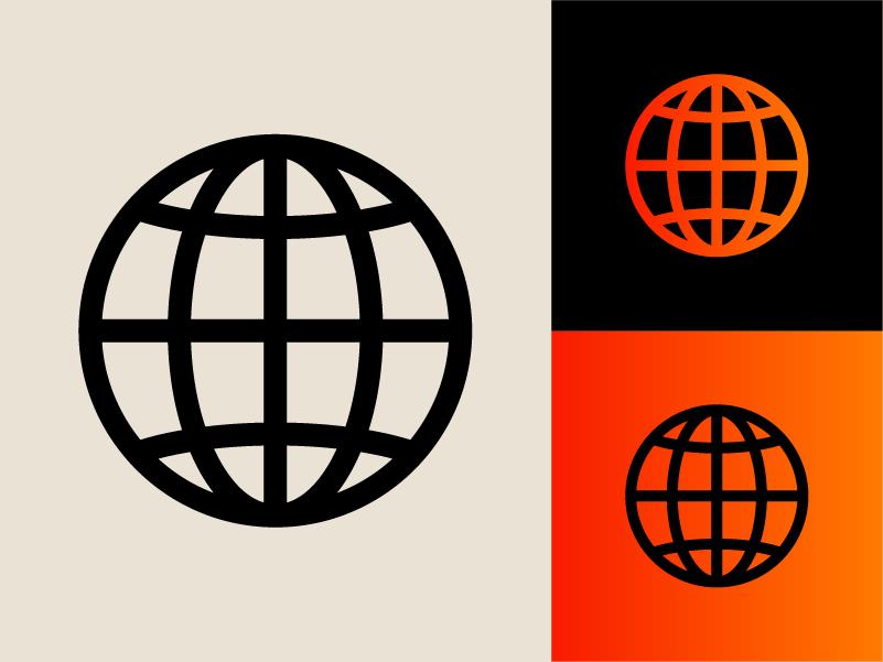 Modernist 003 corporate branding corporate modernism color clean circle branding shapes modern icon 70s retro logo lines graphic design geometric vector minimal illustration design