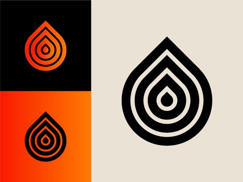 Modernist 004 swiss design water modernism color clean circle branding shapes modern icon 70s retro logo lines graphic design geometric vector minimal illustration design