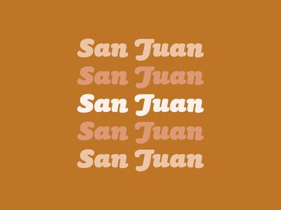 The beautiful, San Juan
