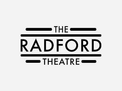 Logo – The Radford Theatre art deco brand design graphic design logo typography branding brand identity logo design