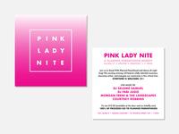 Postcard – Pink Lady Nite
