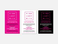 Posters – Pink Lady Nite