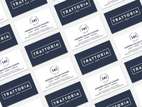 Business Cards – Trattoria 141