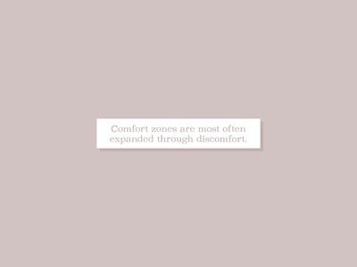 Fortune Cookie comfort zones words of wisdom social media fortune cookie illustration typography minimalism