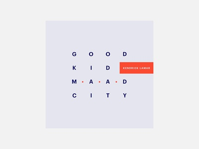 Good Kid, M.A.A.D City – Kendrick Lamar