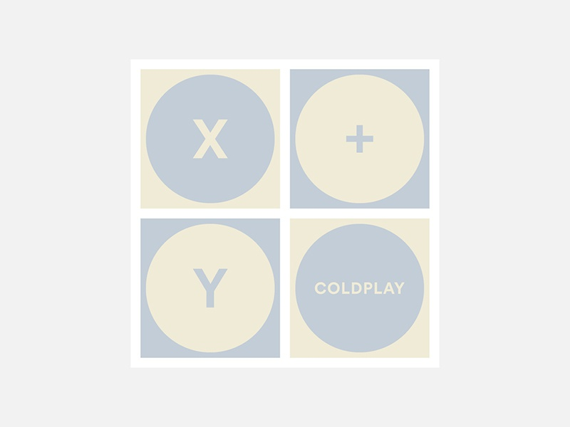 Dribbble 100 days minimalist album covers 049