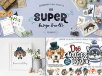 Super Design Bundle with Dogs