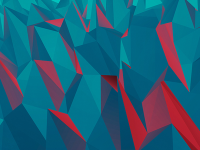 Polygons poly polygon red background