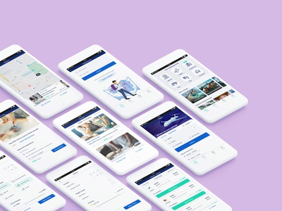 Progressive Web Application designer userexperience behance dribbble userinterface uxdesign uidesign pwa app auto animate adobe illustrator sketch ux ui illustration design adobe