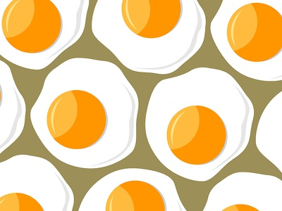 Scrambled Eggs  chiken fresh illustration vector food background scrambled egg