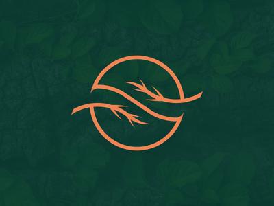 S and Leaf unused plant logo herbal herb logo letter s leaf nature logo golden ratio logo minimal logo design logo design letter s and leaf logo