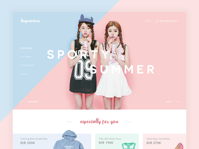Revamp #1: Be Gracious Online Shop 👗