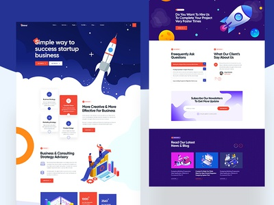 Creative Digital Agency Template