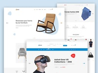 Aahat - eCommerce PSD Template