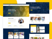 Sikkha - Education PSD Template