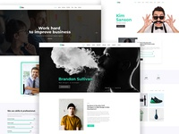 Fira - Personal & Agency PSD Template