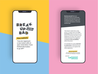 Break Up With Bad In-App
