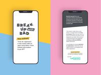 Break Up With Bad In-App