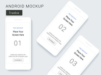 Android Mockups - Freebie