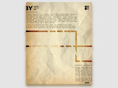 CREATIVE DAILY 033 letter text typography digitalartist affinity designer creativedaily digitalart photoshop posterart poster