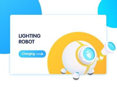 Lighting robort