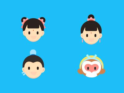 icon-Chinese mythology icon