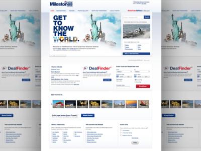 Milestones for American Airlines AAdvantage program