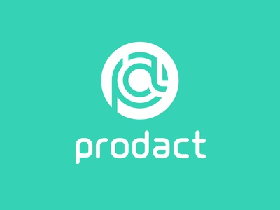 Brand Identity - Logo for a SaaS Startup turquoise process alphabet letter circle sketch product a p logo brand