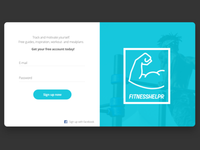 Sign up form - 001 #DailyUI