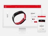 Under Armour Concept Website