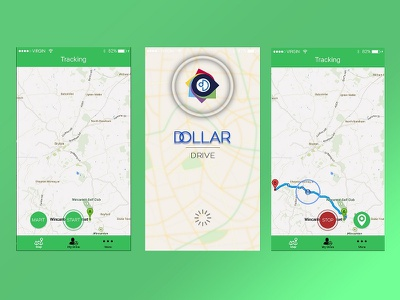 Dollar Drive Mobile App - Designed By Team ipad iphone android development design app mobile medical ecommerce