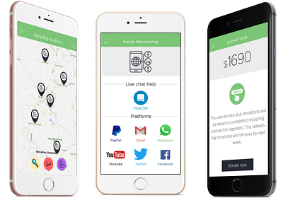 Recycling Industry App - Designed by iQlance