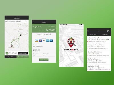 Trackurpro - REAL TIME GPS Tracking App. seo marketing internet web design website game development apps