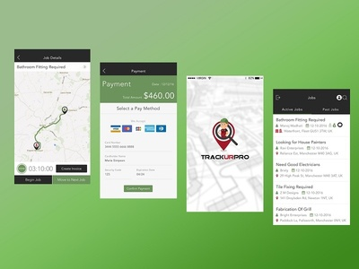 Trackurpro - REAL TIME GPS Tracking App.