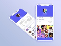 Look at our favorite Social apps Design - by iQlance