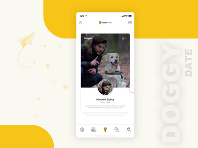 Pet Social Networking App vancouver toronto mobile app app design pet app social app networking iphone android