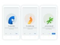 Onboarding - Pet adoption App