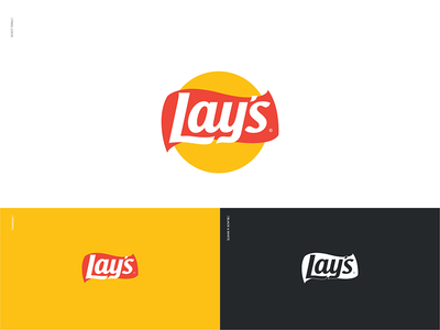 What if Lay's Became Flat symbol brand identity brand branding logo logo design