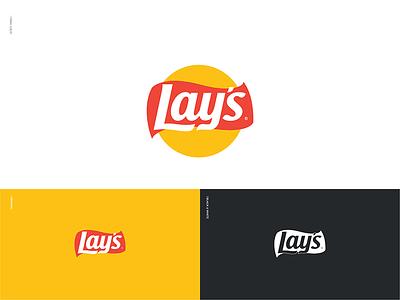 What if Lay's Became Flat symbol brand identity brand branding logo logo design